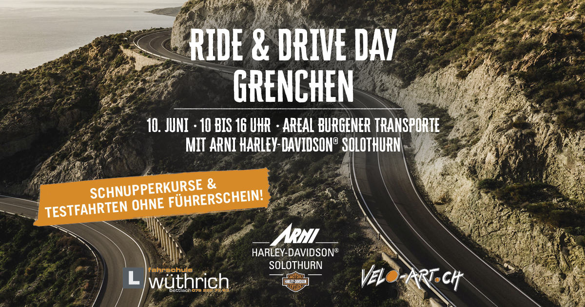 Ride & Drive Day Grenchen 10. Juni 2018
